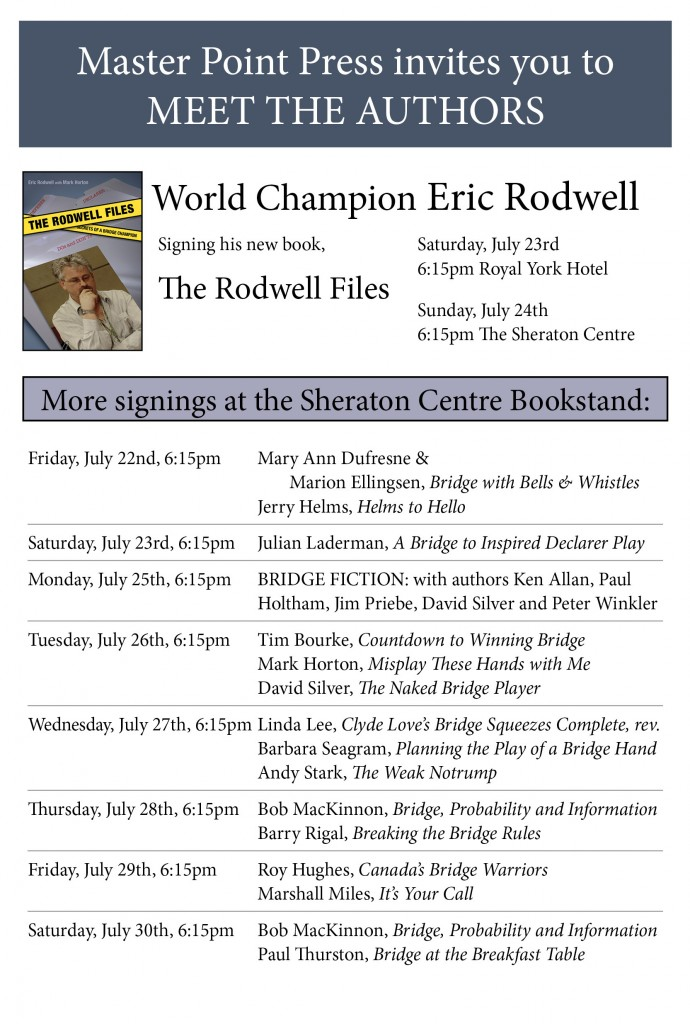 Signing Flyer